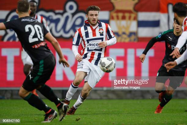 Daniel Crowley of Willem II during the Dutch Eredivisie match between Willem II v FC Groningen at the Koning Willem II Stadium on January 21 2018 in...