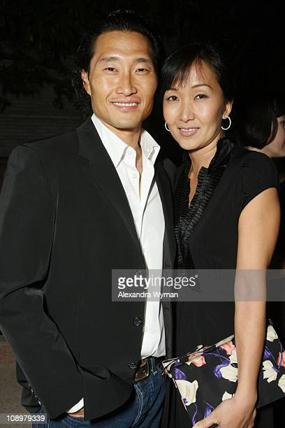 Daniel Dae Kim and Wife Mia Kim at The Entertainment Weekly's 6th Annual PreAnnual Celebration presented by Revlon held at The Beverly Hills Post...