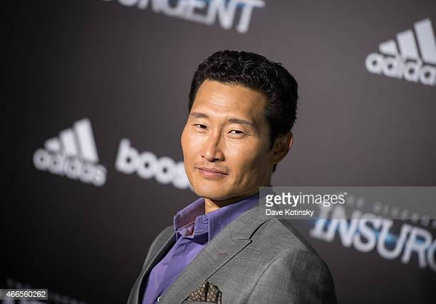 Daniel Dae Kim arrives at the The Divergent Series Insurgent New York premiere at Ziegfeld Theater on March 16 2015 in New York City