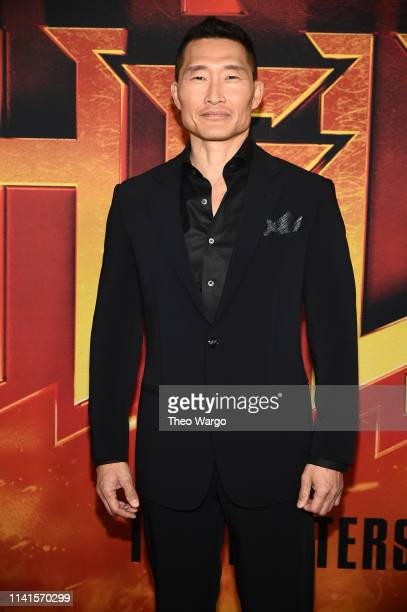 Daniel Dae Kim attends the Hellboy New York Screening at AMC Lincoln Square Theater on April 09 2019 in New York City