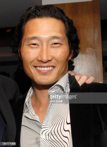 Daniel Dae Kim during Armani Exchange Details Magazine Insider Party at AREA in Los Angeles California United States