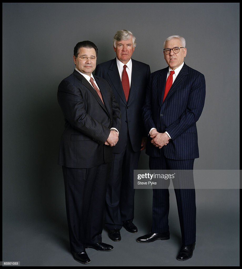 Daniel D'Aniello, William Conway Jr.,& David Rubenstein, Fortune, May 26, 2008 : News Photo