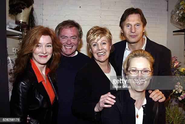 Daniel Davis Lynn Redgrave Liam Neeson and Meryl Streep