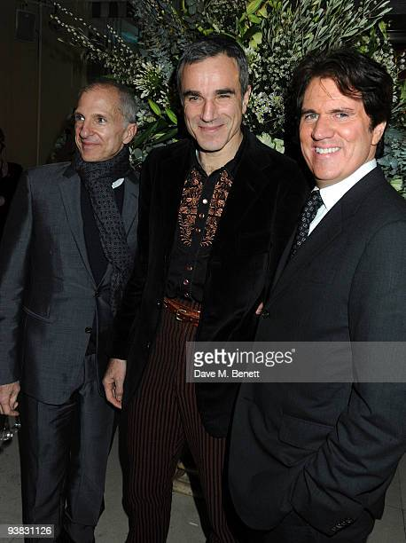 Daniel Day Lewis and director Rob Marshall and guest attend the 'Nine' world film premiere after party at the Odeon Leicester Square on December 3...