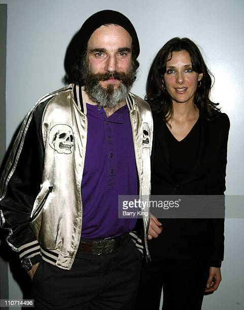 Daniel Day Lewis and Rebecca Miller during 'The Ballad of Jack and Rose' Discussion and Screening at LACMA in Los Angeles CA United States
