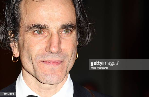 Daniel Day Lewis arrives at the Orange British Academy Film Awards 2008 held at the Royal Opera House on February 10 2008 in London England