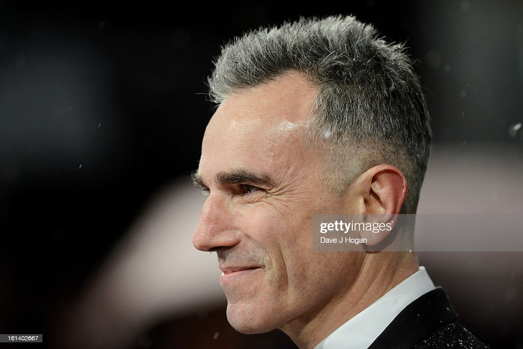 Daniel Day Lewis attends The EE British Academy Film Awards 2013 at The Royal Opera House on February 10, 2013 in London, England.