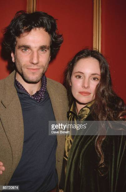 Daniel DayLewis and Madeleine Stowe attend the premiere of 'The Last of the Mohicans' in which they both starred 4th November 1992