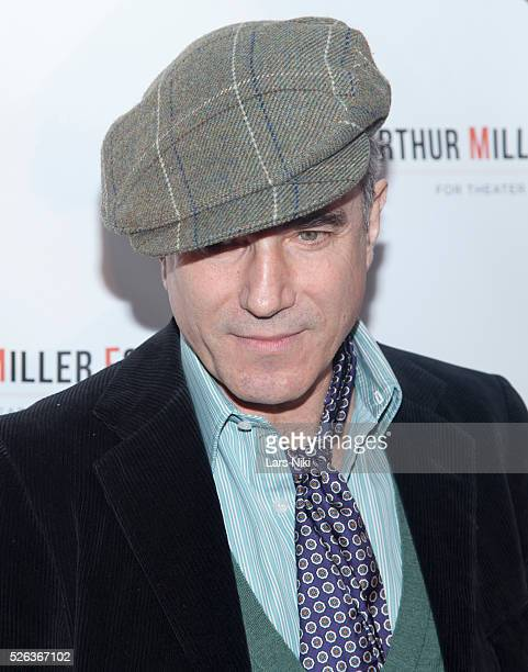 Daniel DayLewis attends the 'Arthur Miller One Night 100 Years' benefit at the Lyceum Theatre in New York City �� LAN