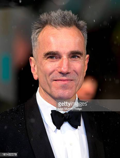 Daniel DayLewis attends the EE British Academy Film Awards at The Royal Opera House on February 10 2013 in London England