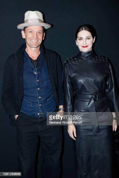 Daniel de la Falaise and Amira Casar attend the Annual Charity Dinner hosted by the AEM Association Children of the World for Rwanda at Pavillon...