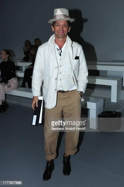 Daniel de la Falaise attends the Haider Ackermann Womenswear Spring/Summer 2020 show as part of Paris Fashion Week on September 28, 2019 in Paris,...