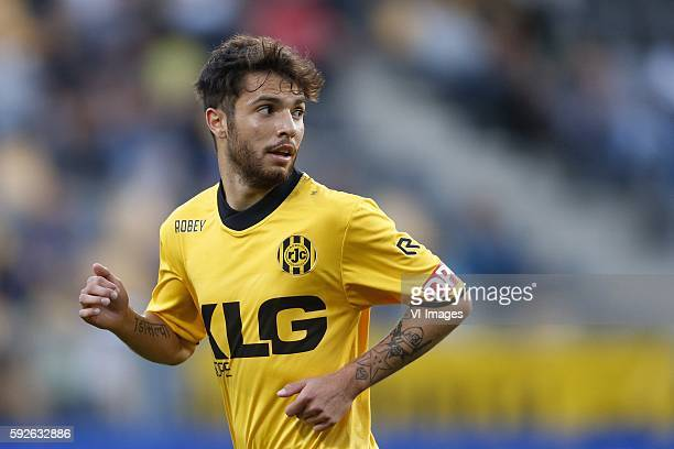 Daniel de Silva of Roda JC during the Dutch Eredivisie match between Roda JC Kerkrade and Vitesse at the Parkstad Limburg stadium on august 20 2016...