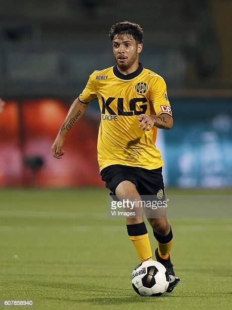 Daniel de Silva of Roda JC during the Dutch Eredivisie match between Roda JC Kerkrade and SC Heerenveen at the Parkstad Limburg stadium on September...