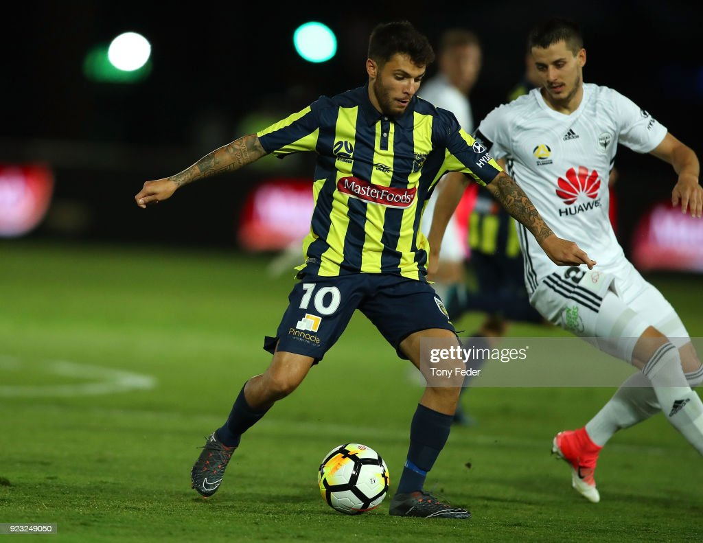 A-League Rd 21 - Central Coast v Wellington