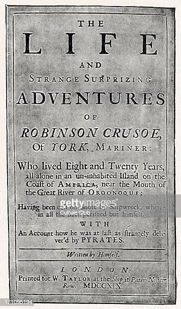 robinson crusoe as the true prototype [robinson crusoe] is the true prototype of the british colonist the whole anglo- saxon spirit is in crusoe: the manly independence - james joyce quotes at azquotescom.