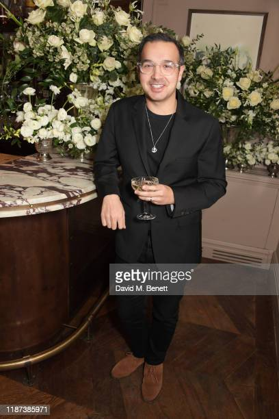 Daniel Dewsbury attends an intimate dinner hosted by Edward Enninful and Anne Mensah in celebration of the BAFTA Breakthrough Brits at Kettner's on...