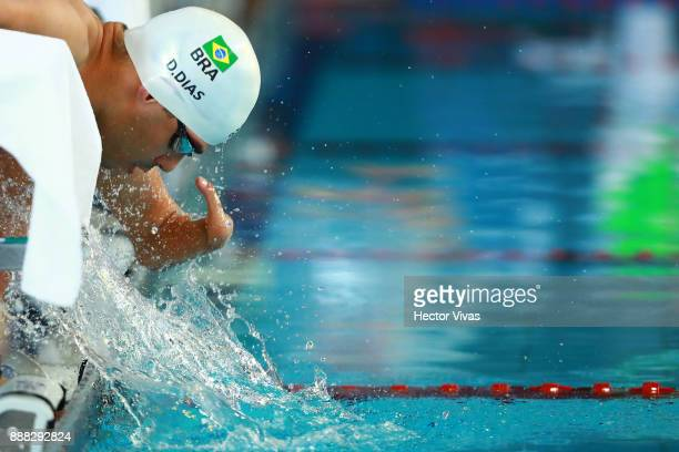 Daniel Dias of Brazil competes in Men's 200 m Freestyle S45 during day 5 of the Para Swimming World Championship Mexico City 2017 at Francisco...