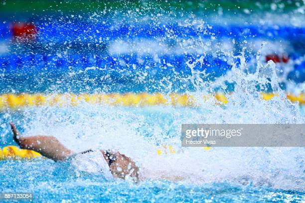 Daniel Dias of Brazil competes in Men's 50 m Backstroke S5 during day 3 of the Para Swimming World Championship Mexico City 2017 at Francisco Marquez...