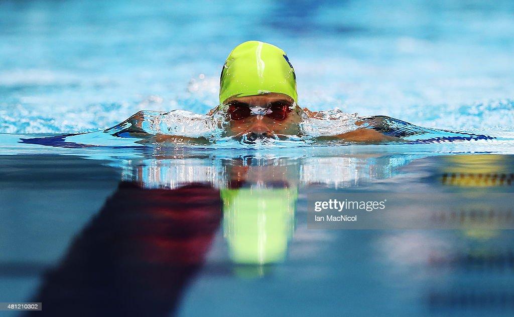 IPC Swimming World Championships - Day Six : Nachrichtenfoto