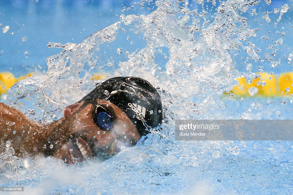 Paralympic Swimming Tournament - Aquece Rio Test Event for the Rio 2016 Paralympics : ニュース写真