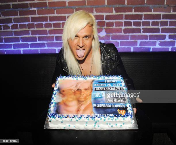 Daniel DiCriscio attends his Live in Concert Birthday party at Eleven NightClub on January 25 2013 in West Hollywood California