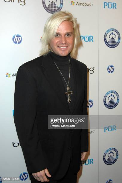 Daniel DiCriscio attends KENNA AND FRIENDS PRESENT SUMMIT ON THE SUMMIT KILIMANJARO PREASCENT EVENT at Voyeur on December 9 2009 in West Hollywood...