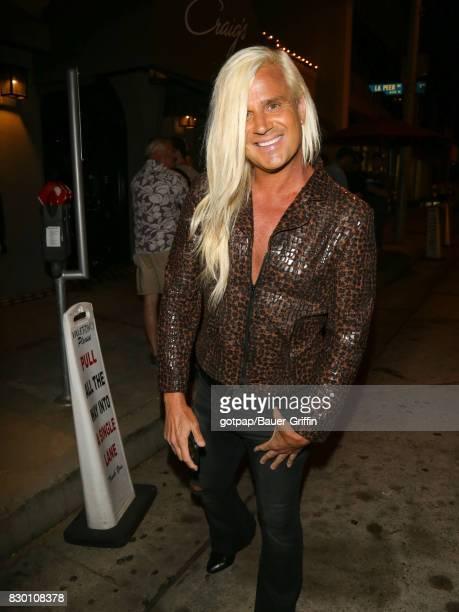 Daniel DiCriscio is seen on August 10 2017 in Los Angeles California