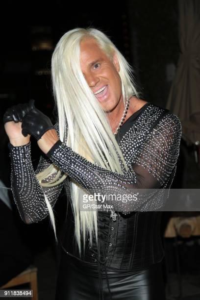 Daniel DiCriscio is seen on January 28 2018 in Los Angeles CA