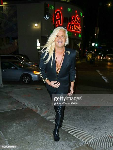 Daniel DiCriscio is seen on November 21 2016 in Los Angeles California