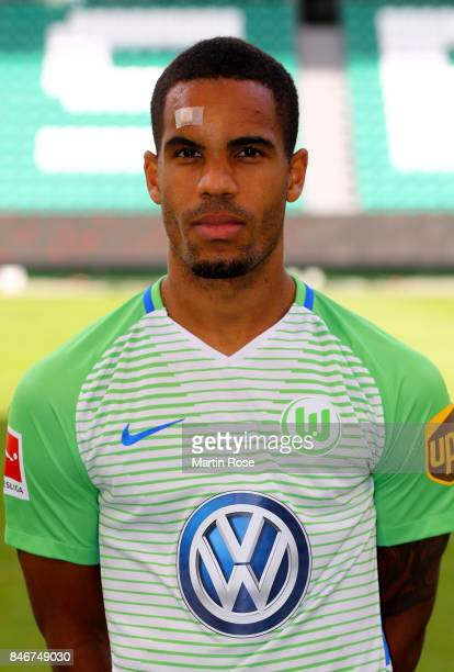 Daniel Didavi of VfL Wolfsburg poses during the team presentation at on September 13 2017 in Wolfsburg Germany