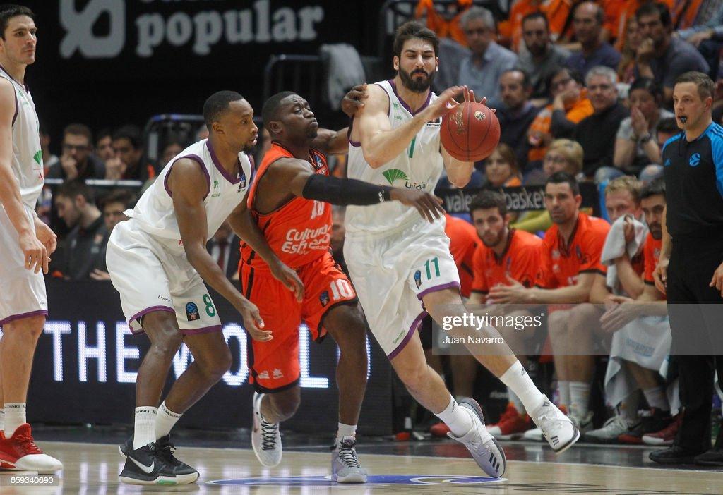Valencia Basket v Unicaja Malaga - 2016-2017 EuroCup Basketball Finals Leg One