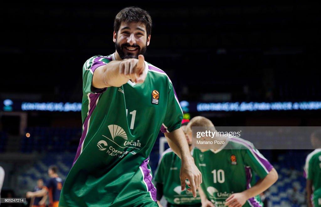 Unicaja Malaga v Valencia Basket - Turkish Airlines EuroLeague