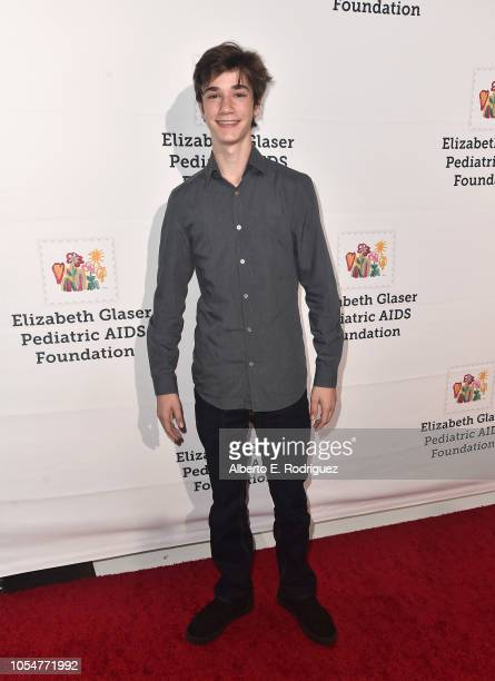 Daniel DiMaggio attends the Elizabeth Glaser Pediatric Aids Foundation's 30th Anniversary A Time For Heroes Family Festival at Smashbox Studios on...