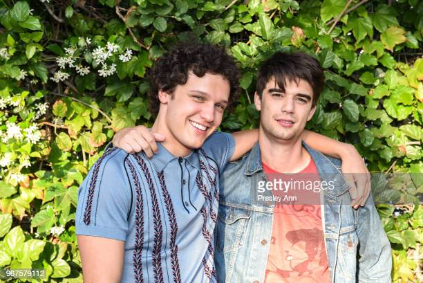 Daniel Doheny and Antonio Marziale attend Special Screening And QA For Netflix's 'Alex Strangelove' at Los Angeles LGBT Center on June 4 2018 in Los...