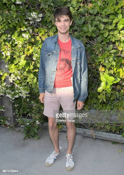 Daniel Doheny attends a special screening of the Netflix film Alex Strangelove at the Los Angeles LBGT Center and The Renberg Theatre on June 4 2018...