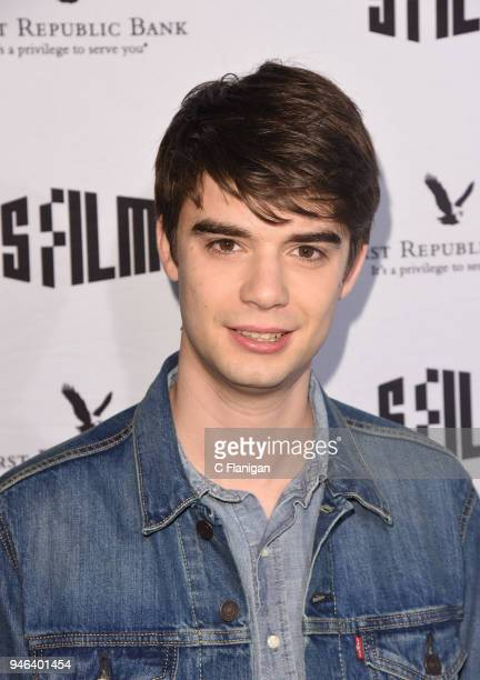 Daniel Doheny attends the Alex Strangelove premiere during the 2018 San Francisco Film Festival at Victoria Theatre on April 14 2018 in San Francisco...