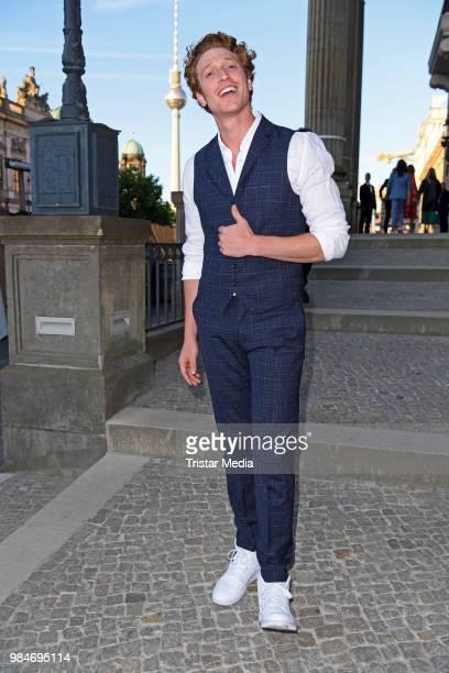 Daniel Donskoy attends the BURDA Summer Party on June 26 2018 in Berlin Germany