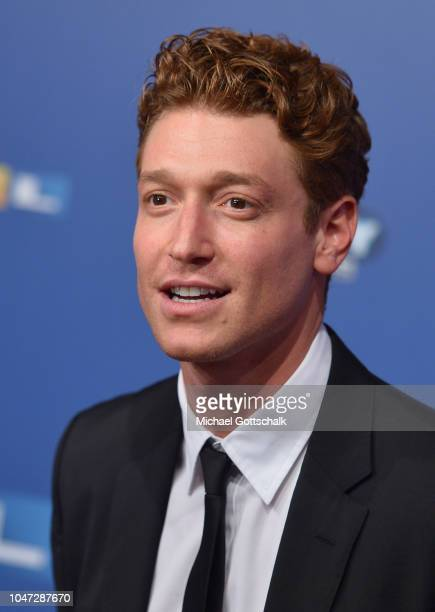 Daniel Donskoy attends the red carpet at the 22nd Annual German Comedy Awards at Studio in Koeln Muehlheim on October 7 2018 in Cologne Germany