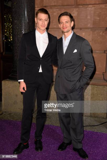 Daniel Donskoy August Wittgenstein attend the PLACE TO B Party on February 17 2018 in Berlin Germany