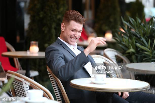 Daniel Donskoy currently to be seen as Maik in Sankt Maik for RTL poses during a photo session on February 18 2018 in Berlin Germany