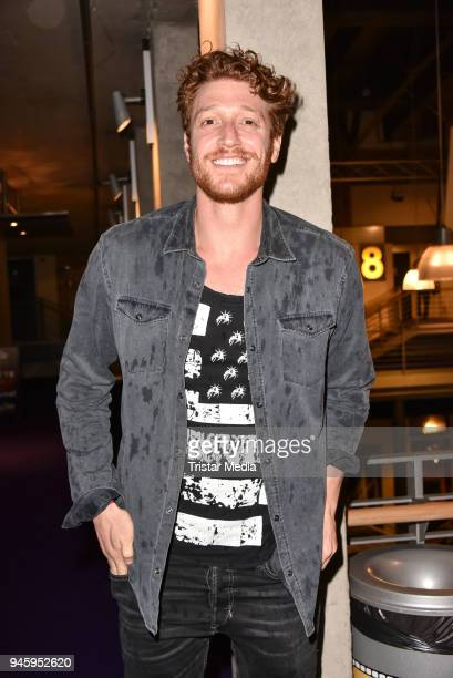 Daniel Donskoy during the premiere 'Die Haut der Anderen' at Kino in der Kulturbrauerei on April 13 2018 in Berlin Germany