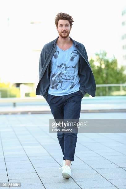 Daniel Donskoy seen wearing Premiata shoes on May 4 2018 in Berlin Germany