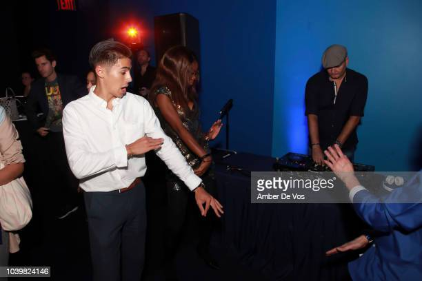 Daniel Dryburgh dances at the FIAF's Young Patrons Fall Fete at FIAF on September 24 2018 in New York City
