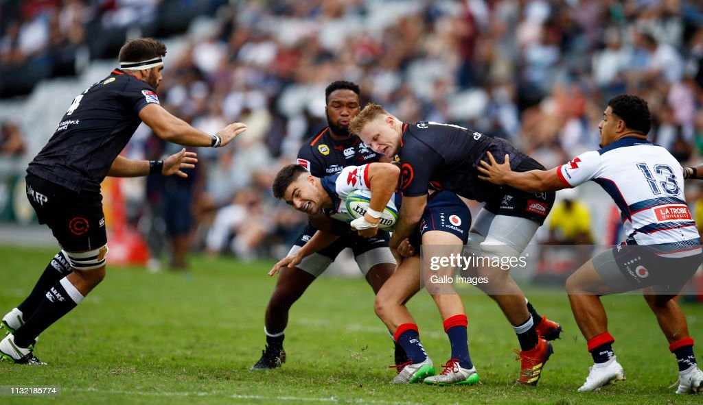 ZAF: Super Rugby Rd 6 - Sharks v Rebels