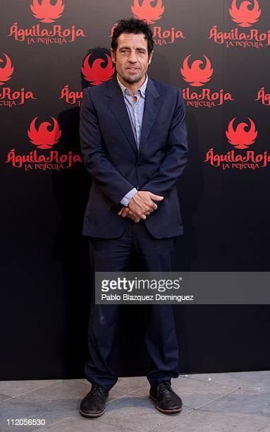 Daniel Ecija attends 'Aguila Roja' photocall at Santo Mauro Hotel on April 12 2011 in Madrid Spain