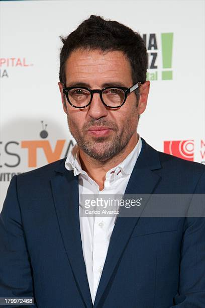 Daniel Ecija attends the 5th FesTVal Television Festival 2013 closing ceremony at the Principal Theater on September 7 2013 in VitoriaGasteiz Spain