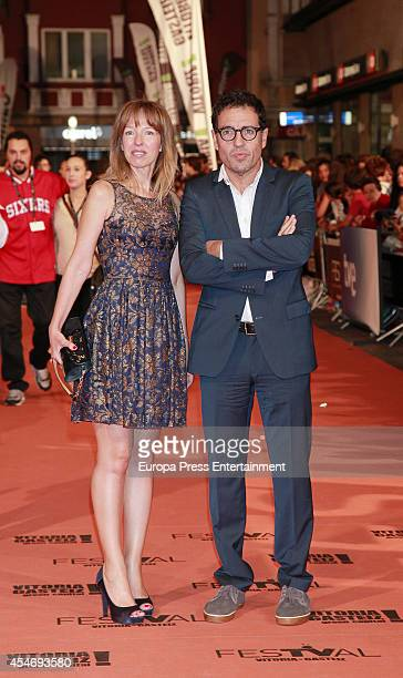 Daniel Ecija attends the 'Aguila Roja' new season premiere during the 6th FesTVal Television Festival 2014 on September 4 2014 in VitoriaGasteiz Spain