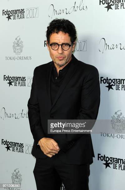 Daniel Ecija attends the 'Fotogramas de Plata' awards candidates dinner at The Santo Mauro Hotel on February 19 2018 in Madrid Spain