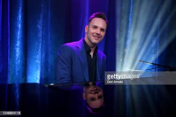Daniel Edmonds performs post show on June 05 2020 in Sydney Australia The Reservoir Room is livestream performances of theatre live music cabaret and...